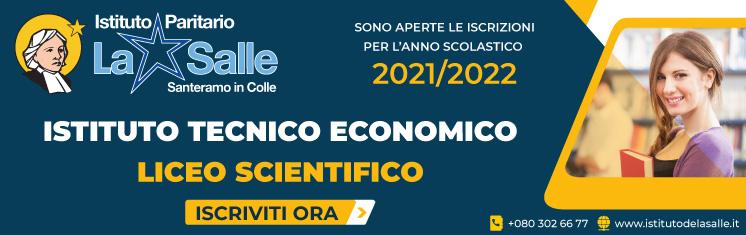 Iscrizioni aperte 2021/2022